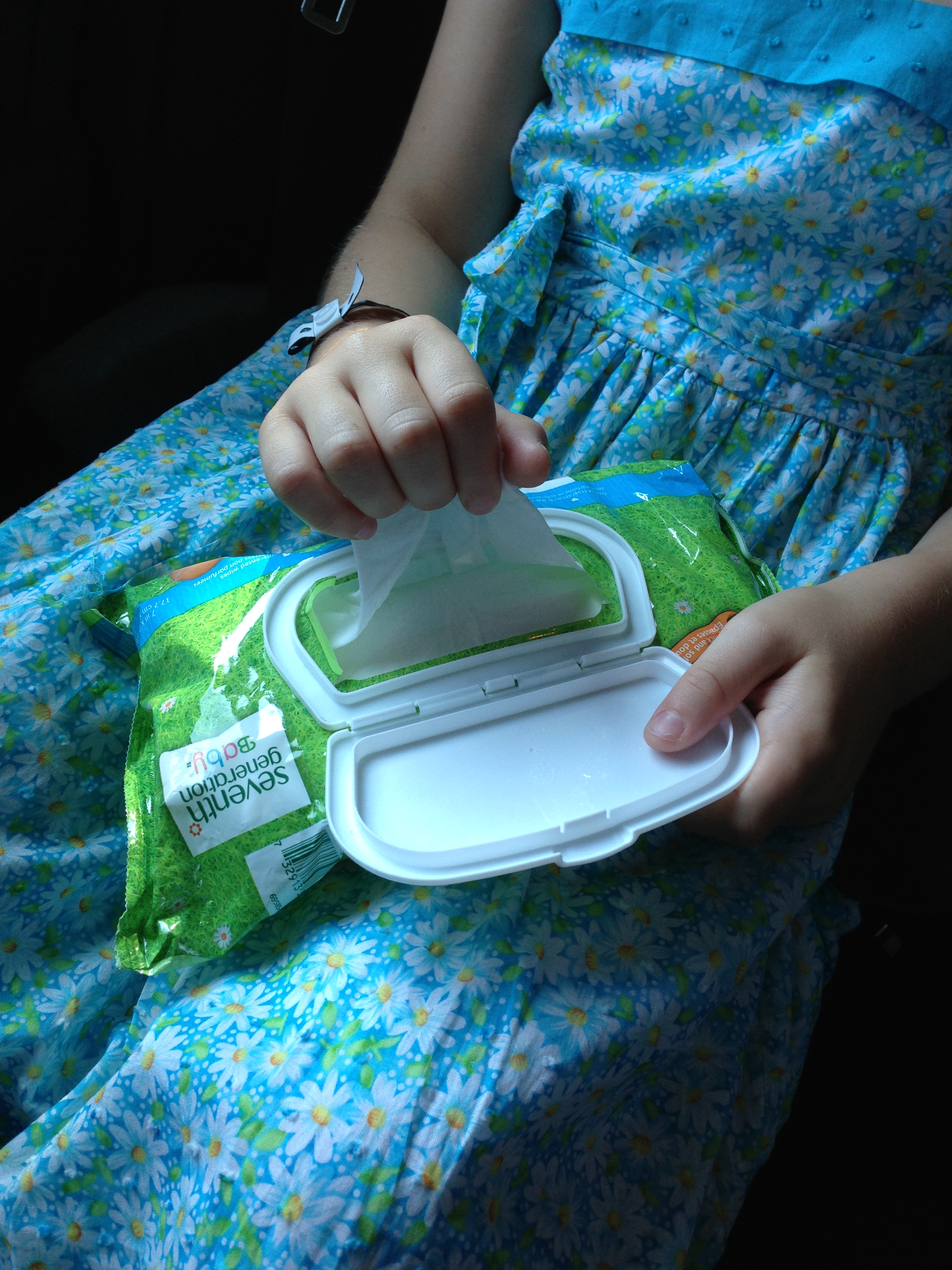 Wipes don't just work on baby bums -- they can keep your kids and car cleaner.