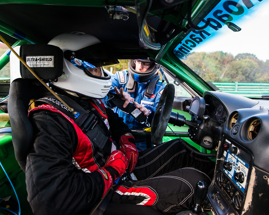 Race cars are cramped, uncomfortable and ready to teach you great lessons about focus.