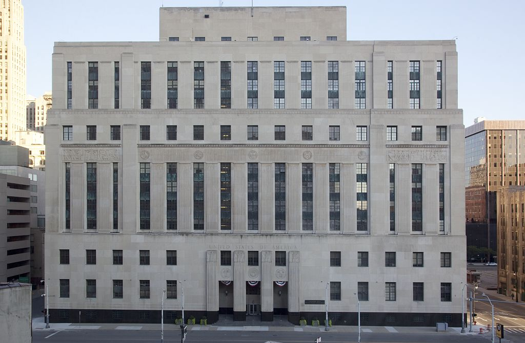 The Detroit Courthouse